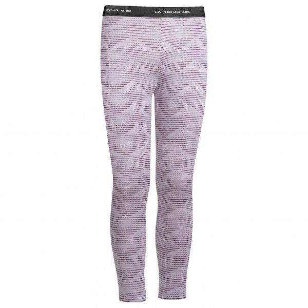 Icebreaker - Kids Oasis Leggings Diamond Line - Leggingsit