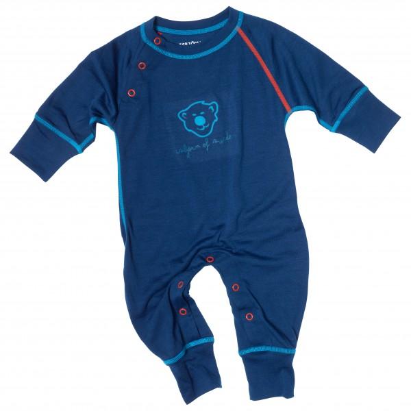 Isbjörn - Husky Baby Jumpsuit Baselayer - Merinovilla-alusvaatteet