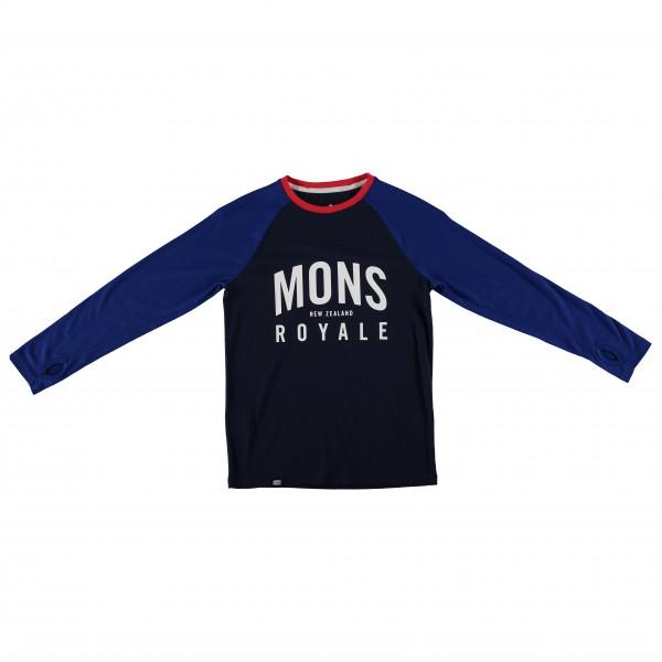 Mons Royale - Boy's Groms L/S - Merino undertøj