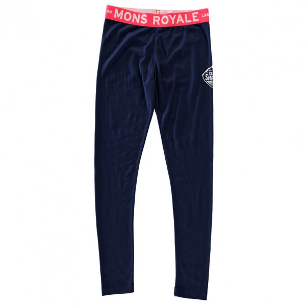Mons Royale - Kid's Groms Legging - Merino ondergoed
