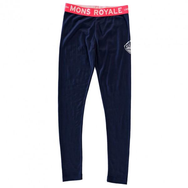 Mons Royale - Kid's Groms Legging - Merinovilla-alusvaatteet