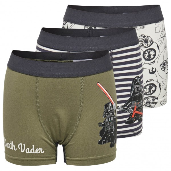 LEGO Wear - Kid's Uwe 650 3 Pack Boxershorts - Ondergoed