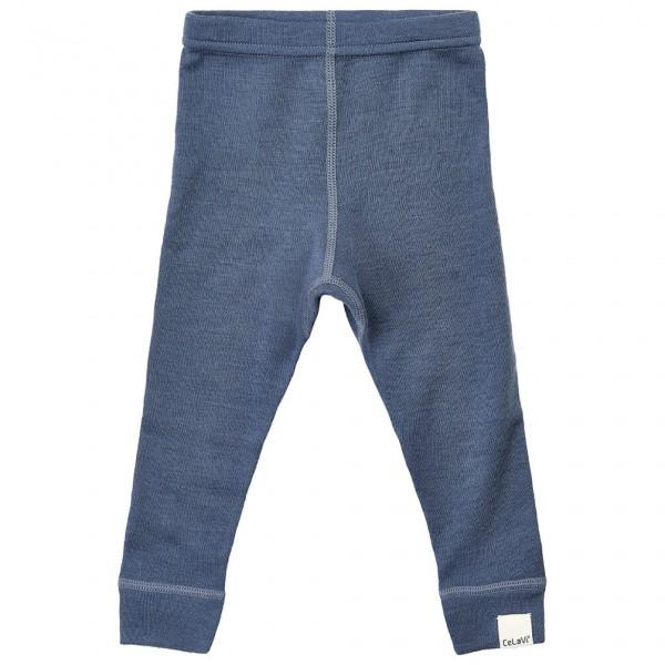 CeLaVi - Baby's Long John Solid Wool - Merino-ondergoed