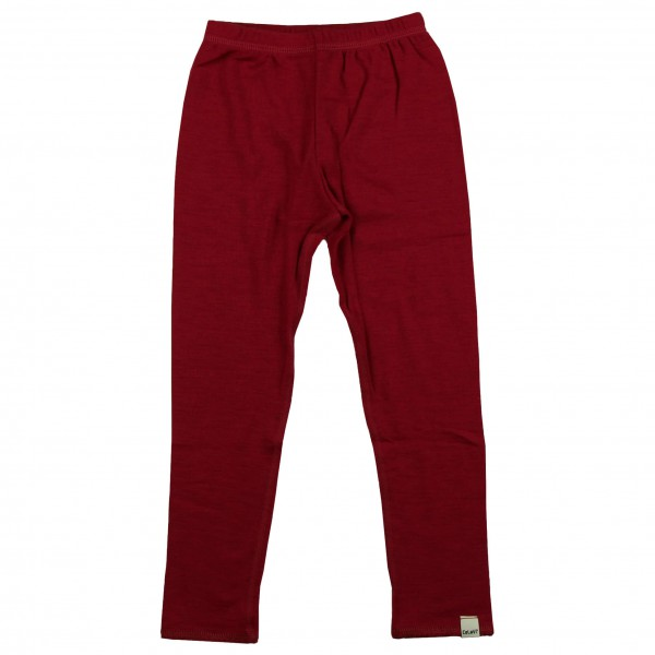 CeLaVi - Kid's Long Johns Coloured Wool - Merino undertøj
