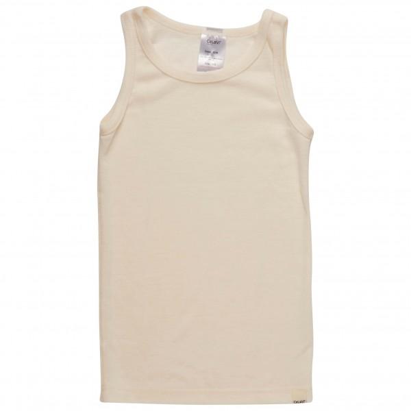 CeLaVi - Kid's Sleeveless Undershirt Basic Wool - Merino base layer
