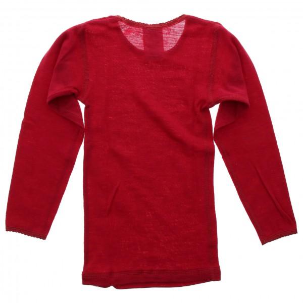 CeLaVi - Kid's Undershirt L/S Coloured Wool - Merinovilla-alusvaatteet