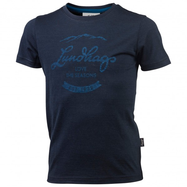 Lundhags - Kid's Merino LT Established Tee - T-paidat
