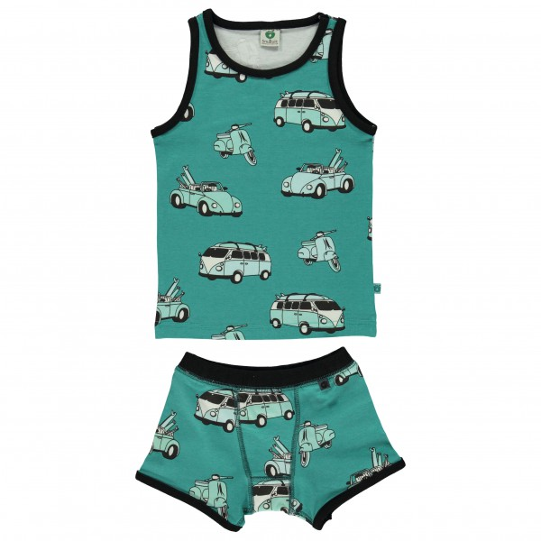 Smafolk - Kid's Underwear With Cars - Alltagsunterwäsche