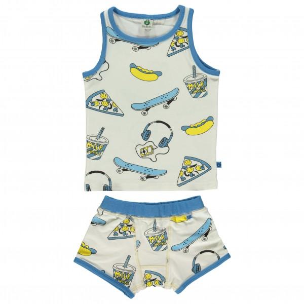 Smafolk - Kid's Underwear With Skater - Perusalusvaatteet
