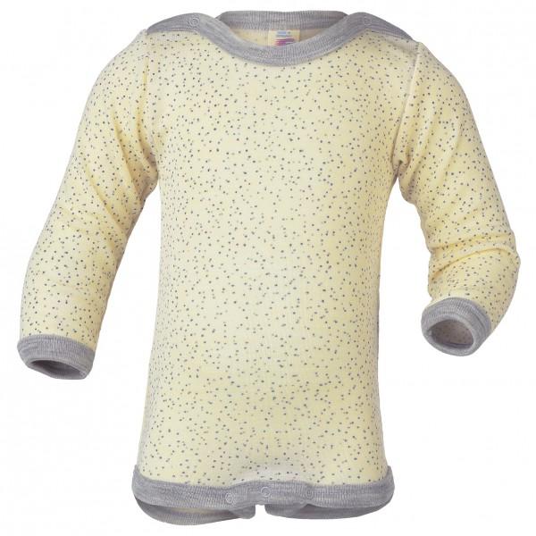 Engel - Baby-Body Langarm Mit Druckverschluss Schulter - Zijden ondergoed