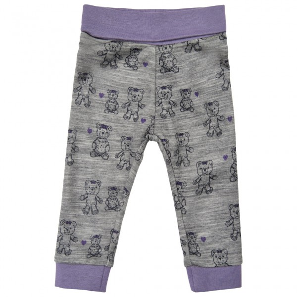 ME TOO - Kid's Pants with Rib N.O.O.S. - Merino undertøj