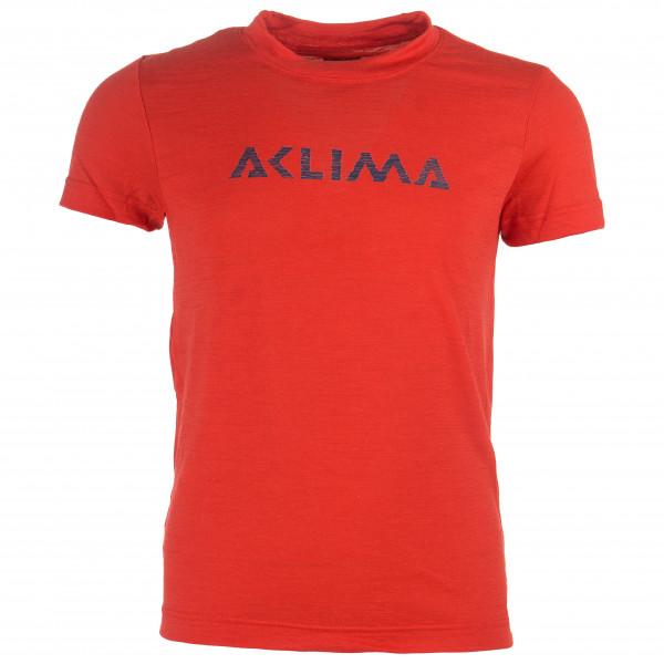 Aclima - Kid's LightWool T-Shirt - Merino base layer