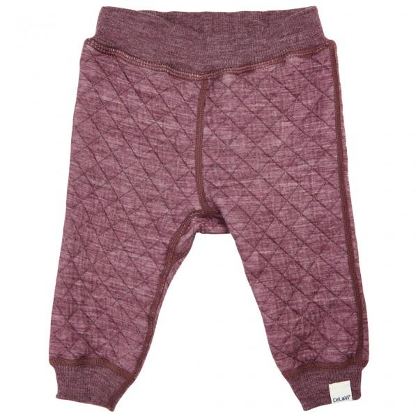 CeLaVi - Kid's Pants Wonder Wollies - Merinoundertøy