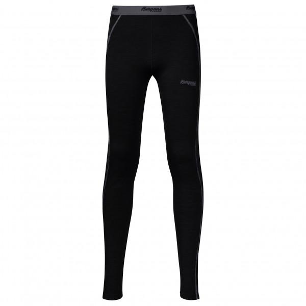 Bergans - Akeleie Youth Tights - Underkläder merinoull