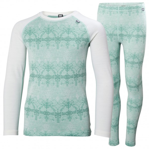Helly Hansen - Junior's Merino Mid Set - Merino base layer