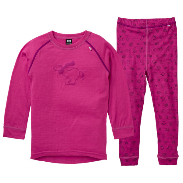 Helly Hansen - Kid's Merino Mid Set - Merino undertøj