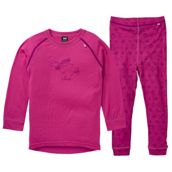 Helly Hansen - Kid's Merino Mid Set - Underkläder merinoull