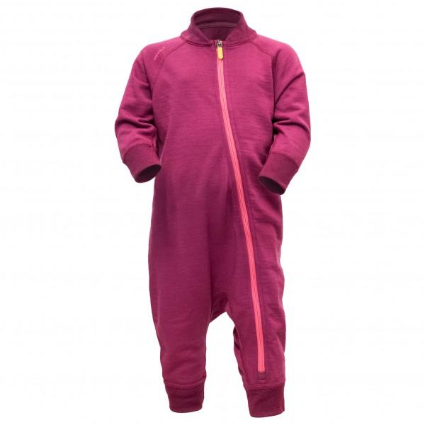 Devold - Nibba Baby Wool Playsuit - Underkläder merinoull