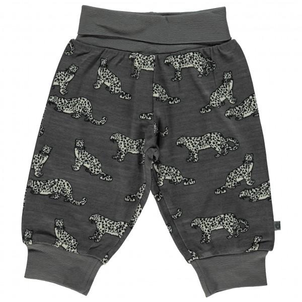 Smafolk - Wool Mix Baby Pants with Leopard - Merino base layer