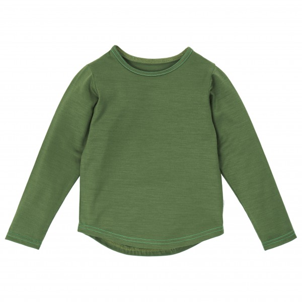 Smalls - Kid's Superfine Merino Long Sleeve Top 17.5 Mic - Merinoundertøy