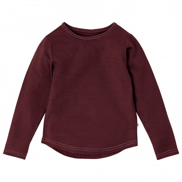 Smalls - Kid's Superfine Merino Long Sleeve Top 17.5 Mic - Underkläder merinoull