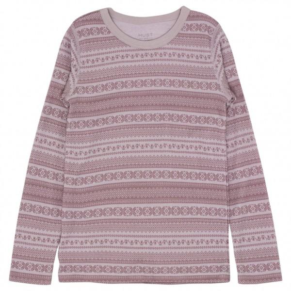 Hust&Claire - Kid's Abba Nightwear - Merinovilla-alusvaatteet