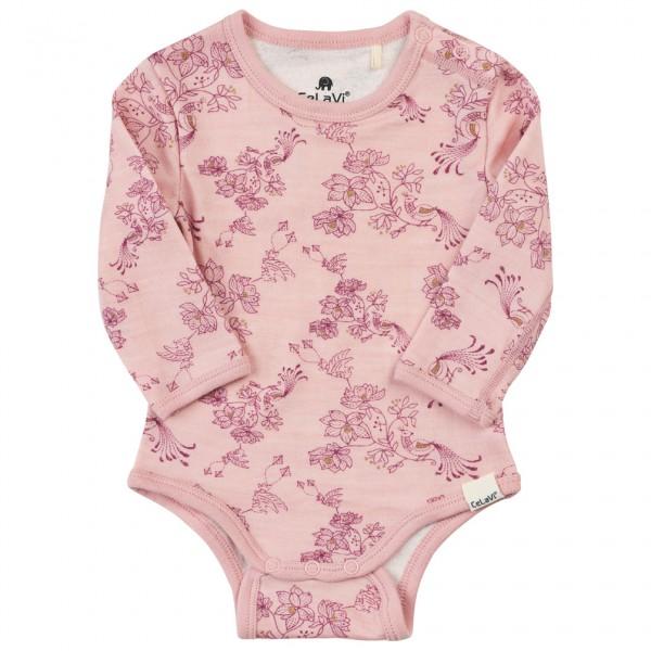 CeLaVi - Kid's Body L/S AOP - Merino ondergoed