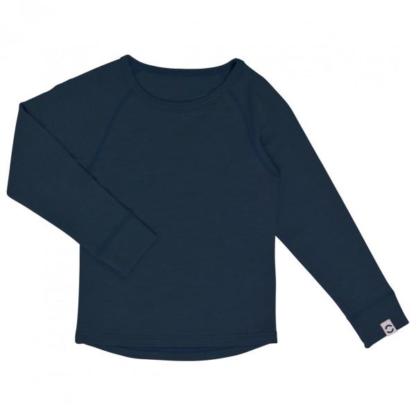 Mikk-Line - Kid's Wool L/S Top - Merino undertøj