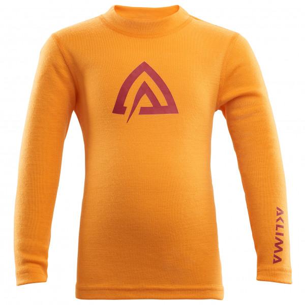 Aclima - Kid's Warmwool Crew Neck Shirt - Merinovilla-alusvaatteet