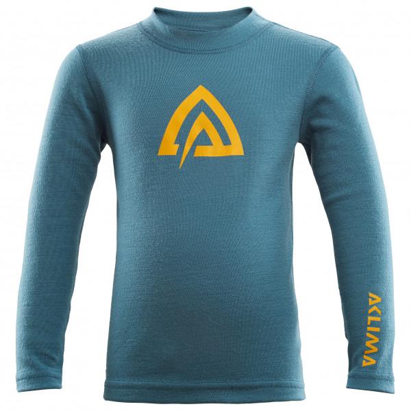 Aclima - Kid's Warmwool Crew Neck Shirt - Merino undertøj