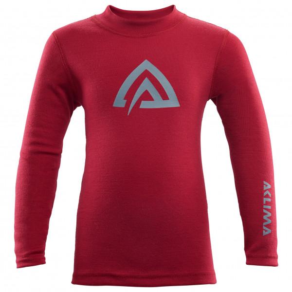Aclima - Kid's Warmwool Crew Neck Shirt - Underkläder merinoull