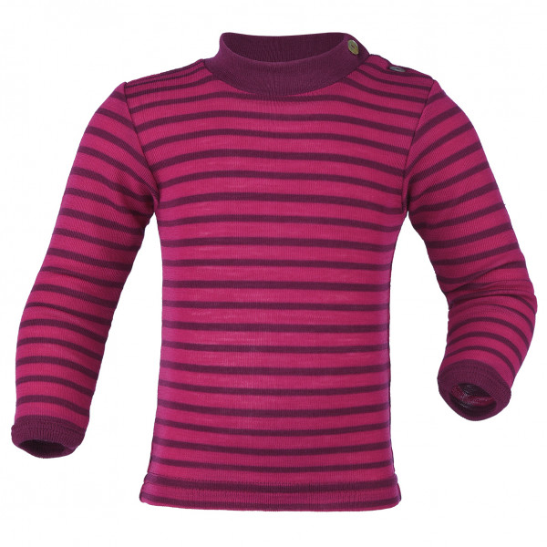 Engel - Baby-Shirt L/S geringelt - Silk base layer