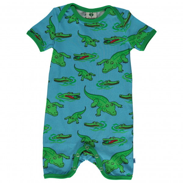 Smafolk - Kid's Body Suit with Crocodile - Alltagsunterwäsche