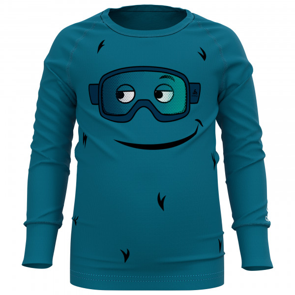 Kid's BL Top Crew Neck L/S Active Warm Eco - Synthetic base layer