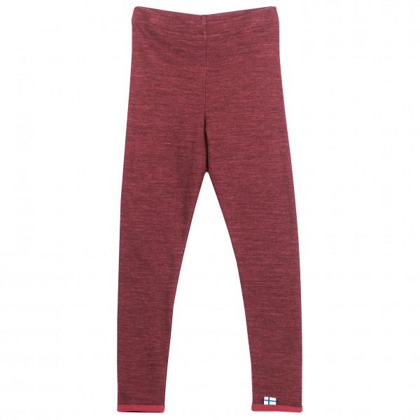 Finkid - Kid's Leikki Wool Casual Pants - Merino base layer