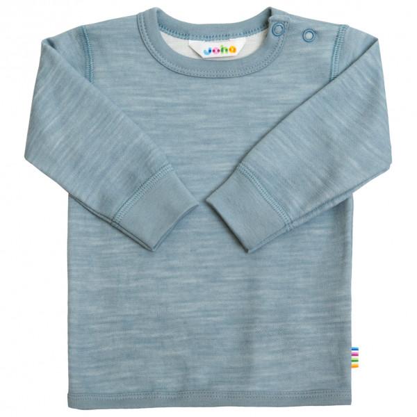 Joha - Kid's Blouse Long Sleeves with Bamboo - Merino base layer
