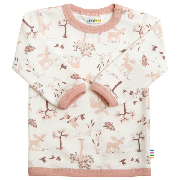 Kid's Blouse Long Sleeves with Bamboo - Merino base layer