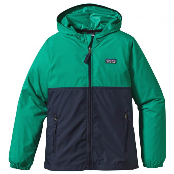 Patagonia - Boy's Light And Variable Hoody - Windjack