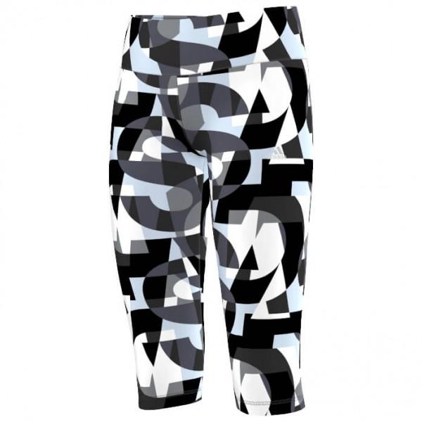 adidas - Kid's Wardrobe Fitness 3/4 Tight