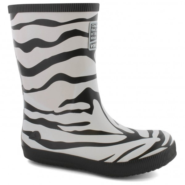 Viking - Kid's Classic Indie Zebra - Rubber boots