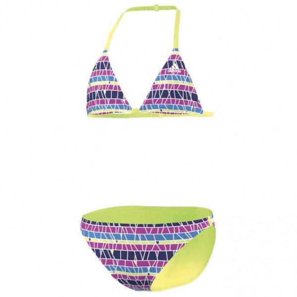 adidas - Girl's Striped Bikini - Bikinit