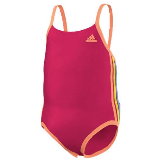 adidas - Girl's Infant 3S Suit - Maillot de bain