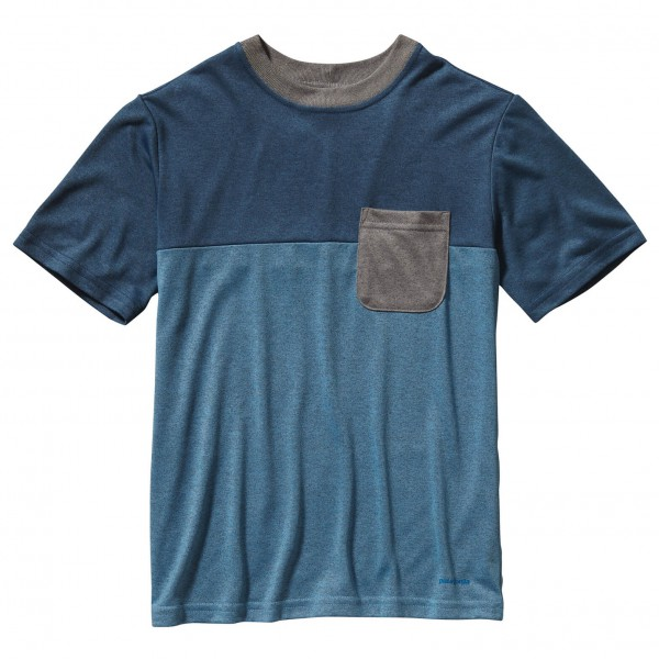 Patagonia - Boy's Polarized Colorblock Tee - T-Shirt