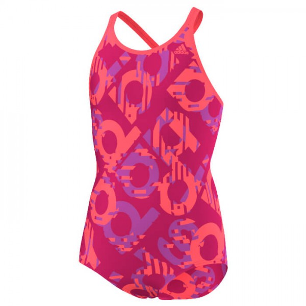 adidas - Girl's Allover Suit - Maillot de bain