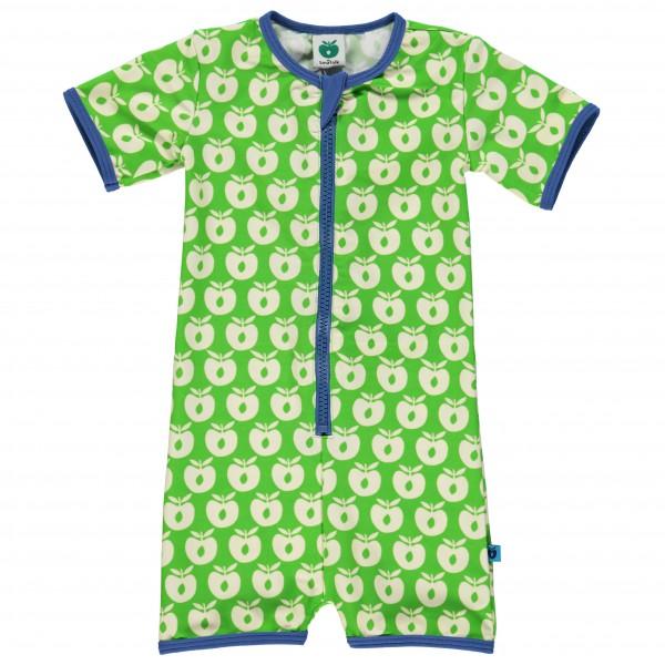 Smafolk - Kid's Cream Apples Suit S/L Baby - Badeanzug