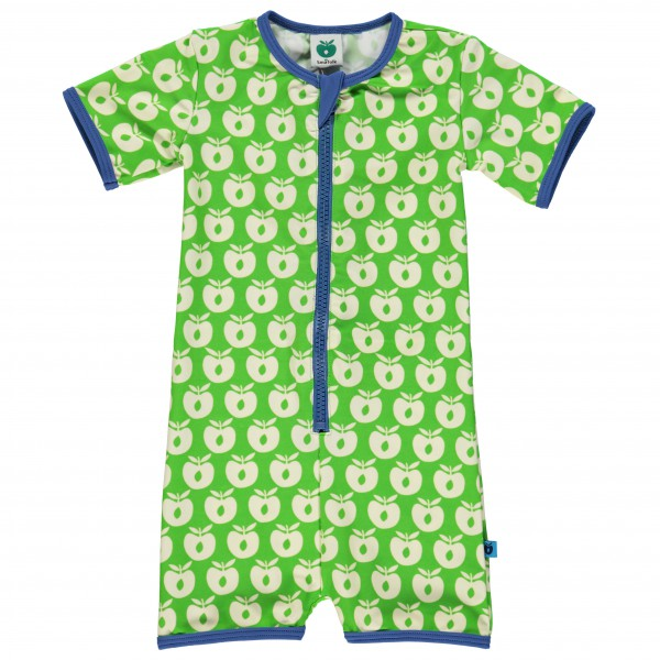 Smafolk - Kid's Cream Apples Suit S/L Baby - Uimapuku
