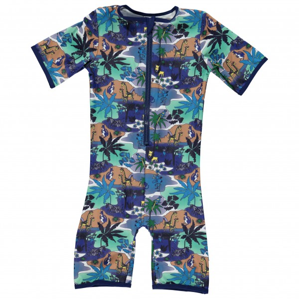 Smafolk - Kid's Jungle Suit S/L - Badeanzug