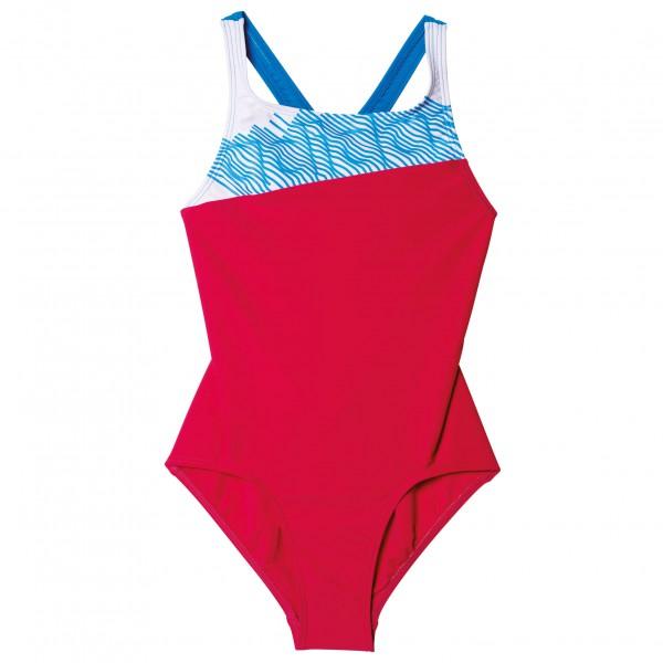 adidas - Springbreak Colorblock Suit Kids Girls - Badpak