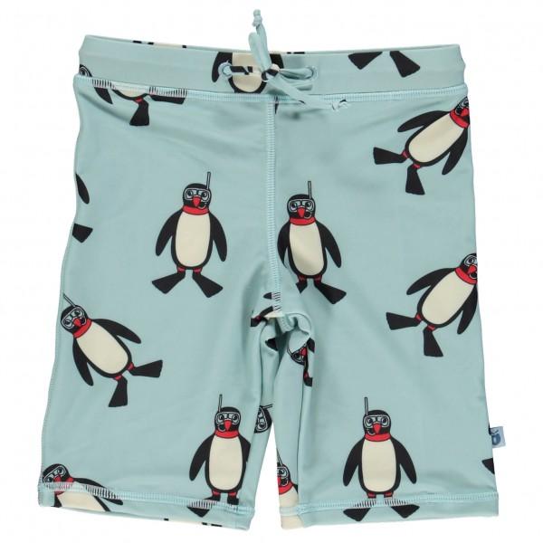 Smafolk - Kid's Swim Shorts Penguin - Badbyxa