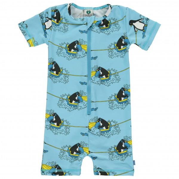 Smafolk - Kid's UV Suit  With Surf Penguin - Lycra